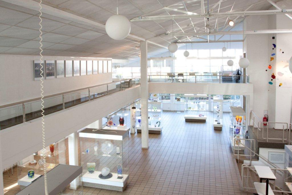 Glasmuseum innen